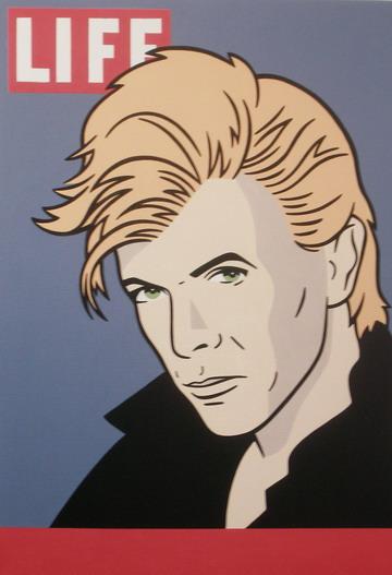Bowie, portret van Luc Verschuuren